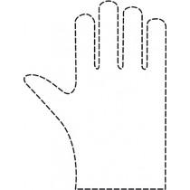 Comair Einweg-Handschuhe (gehämmert)