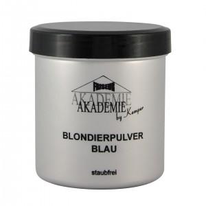 Friseur Akademie Blondierpulver blau